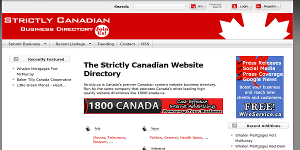 strictlycanadian-business-directory