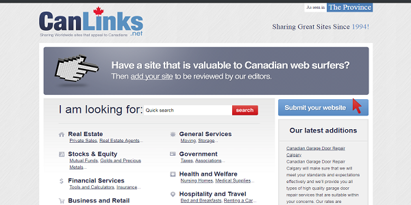 CanLinks-business-directory