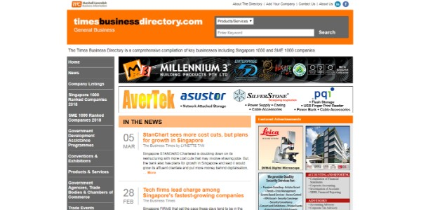 times-business-directory-site