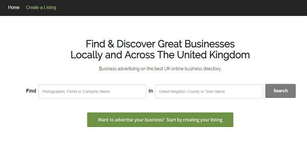 Top business directories in the UK / Datantify