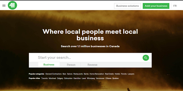 Top business directories in Canada / Datantify