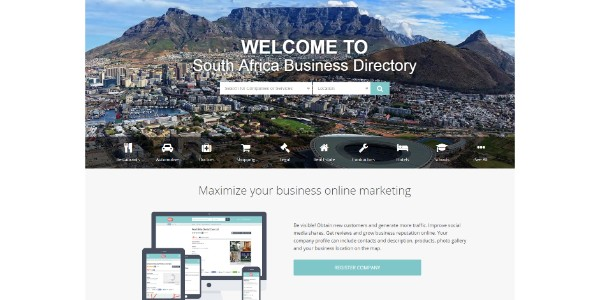 Top business listings in South Africa / Datantify