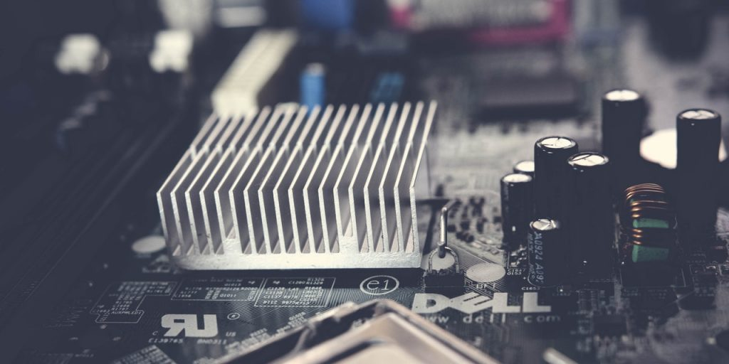 Selective Focus Photography of Heatsink