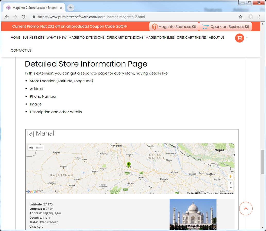 purpletree-store-locator-features