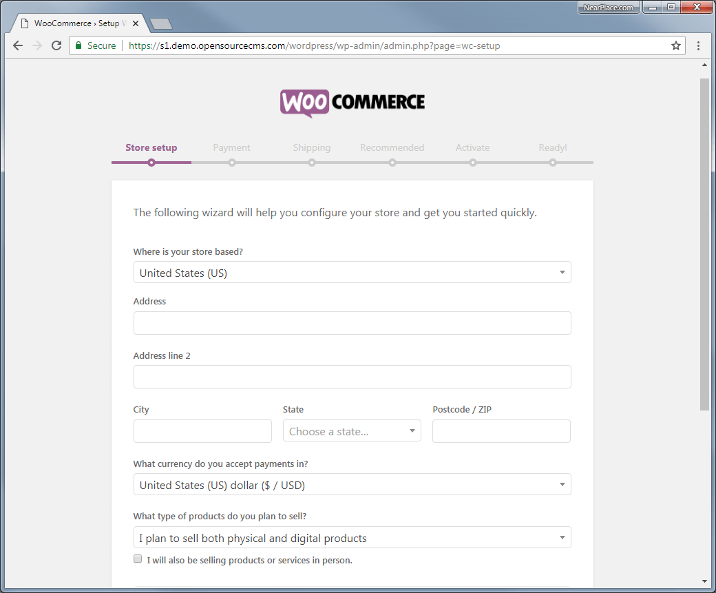 woocommerce-installation