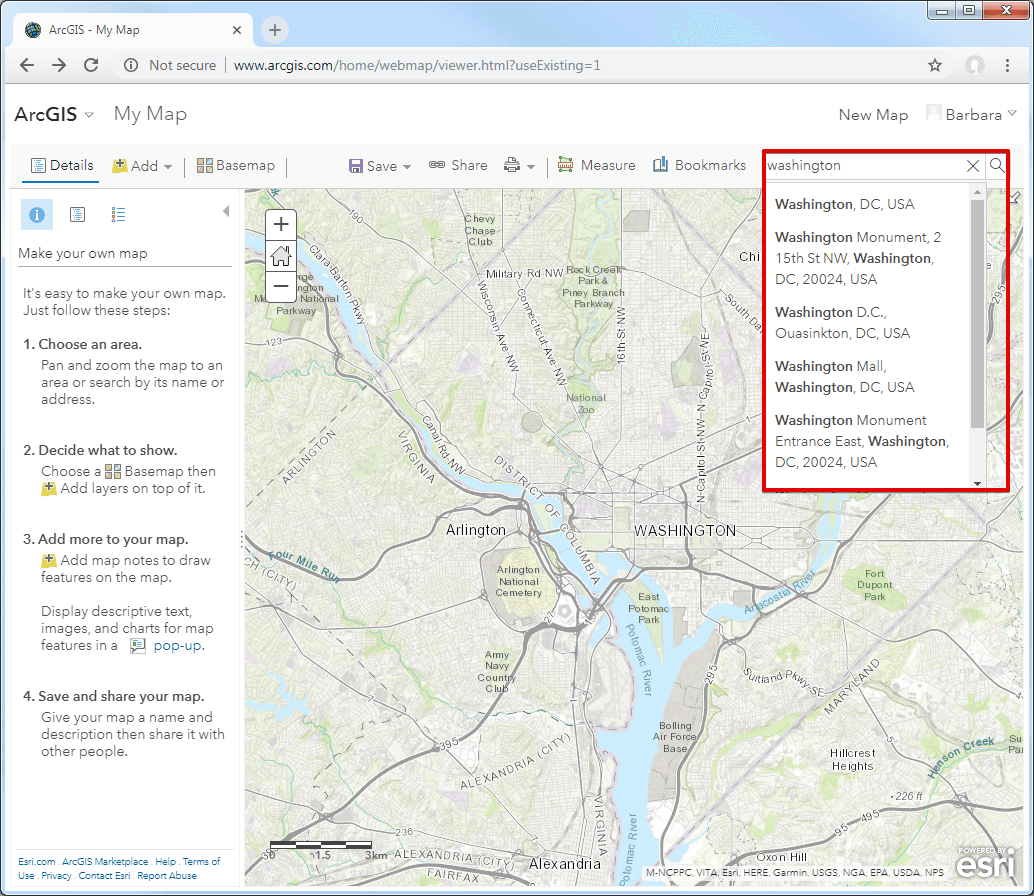arcgis-search-field