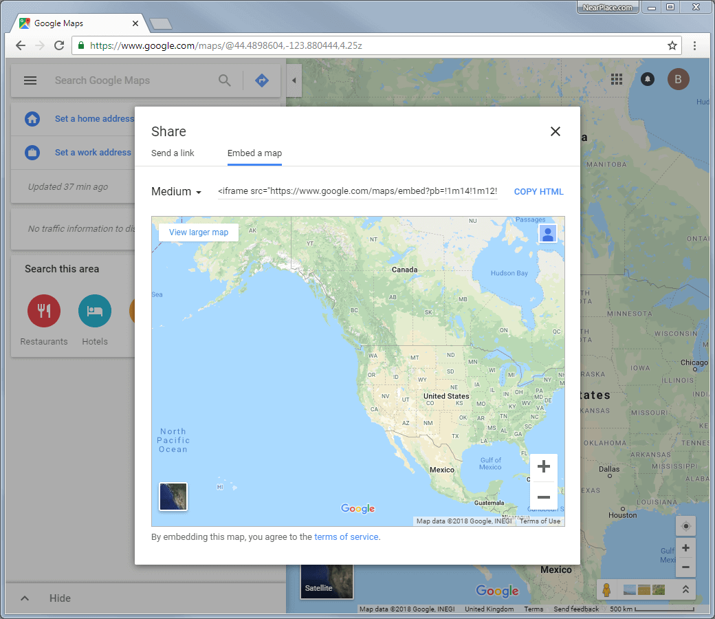 Learn How To Effectively Embed Your Google Map Nearplace Com