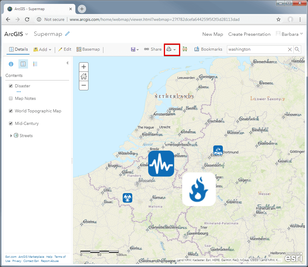 How to Create an Amazing Map with ArcGIS online • NearPlace com
